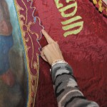 Replica de la bandera de Sant Medir